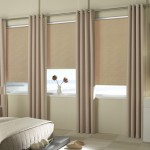 Cortinas roller black out beige