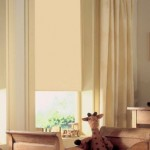 Cortina roller black out beige