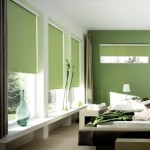 Cortinas roller black out verdes