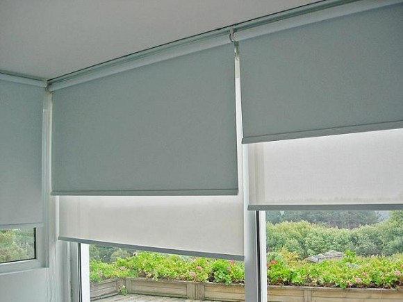 Cortinas black out con sistema doble sunscreen cortinas - Tipos de persianas enrollables ...