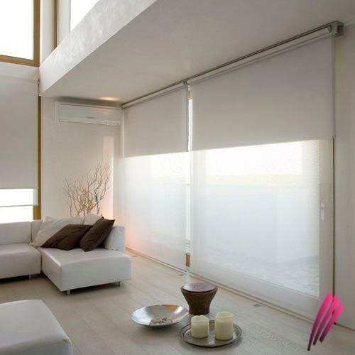Cortinas black out con sistema doble sunscreen cortinas - Cortinas roller black out ...