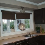 Cortinas roller black out para cocina