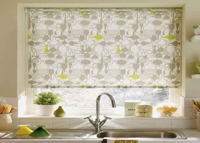 Decoraci n e ideas para mi hogar lindas cortinas para la for Disenos de cortinas para cocinas modernas