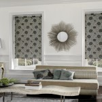 Living con cortinas blackout estampadas